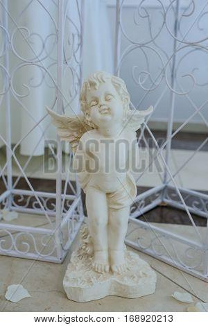Angel Sculpture White