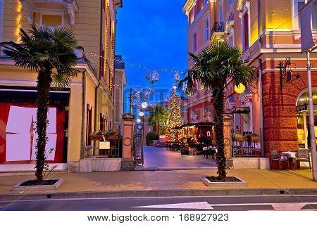 Town Of Opatija Advent Street View