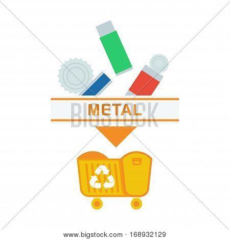 Sorted Garbage Metal