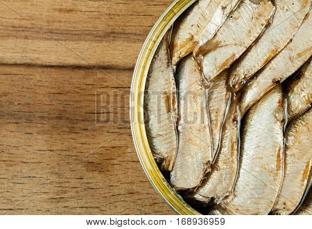 Open Can Of Sprats