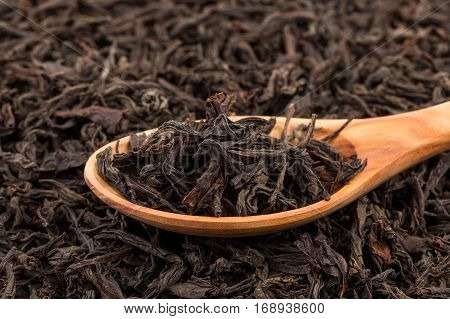 Black Tea In A Spoon
