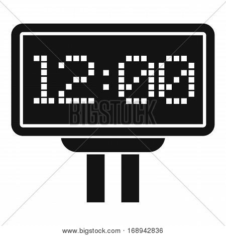 Scoreboard icon. Simple illustration of scoreboard vector icon for web