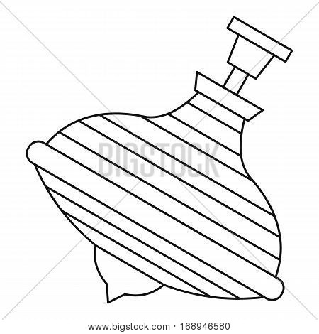 Whirligig toy icon. Outline illustration of whirligig toy vector icon for web