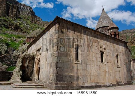 Khor Virap Monastery in armenia near yeveran