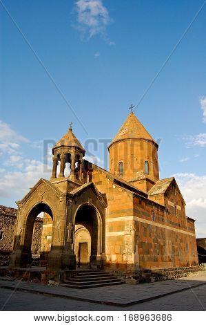 nice khor virapar in armenia near yeveran