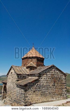 nice Sevanavank and lake Sevan in armenia