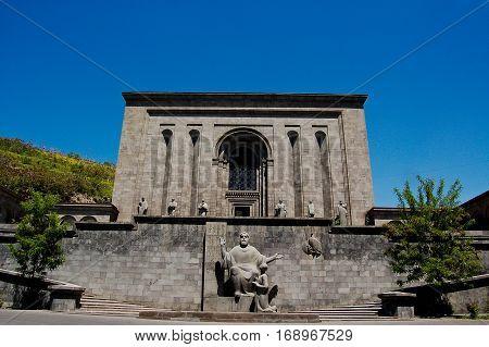 18 may 2007- yeveran - armenia-Matenadaran Ancient Manuscript Museum Yerevan Armenia