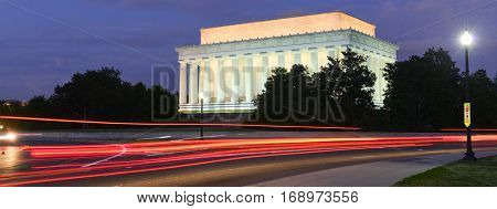 Lincoln Memorial at night - Washington DC, United States