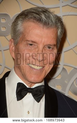 LOS ANGELES - JAN 8:  Michael Buffer at the HBO Golden Globes After-Party at Circa 55 at Beverly Hilton Hotel on January 8, 2017 in Beverly Hills, CA