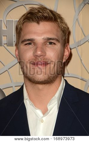 LOS ANGELES - JAN 8:  Chris Zylka at the HBO Golden Globes After-Party at Circa 55 at Beverly Hilton Hotel on January 8, 2017 in Beverly Hills, CA