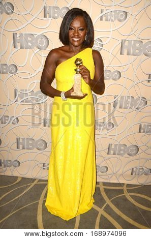 LOS ANGELES - JAN 8:  Viola Davis at the HBO Golden Globes After-Party at Circa 55 at Beverly Hilton Hotel on January 8, 2017 in Beverly Hills, CA