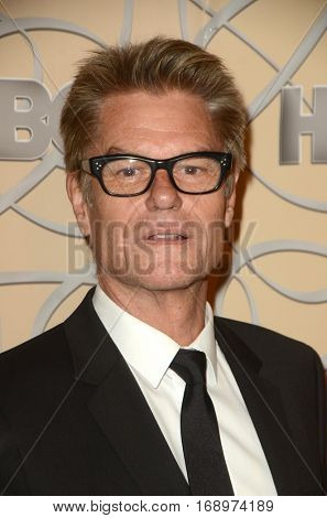 LOS ANGELES - JAN 8:  Harry Hamlin at the HBO Golden Globes After-Party at Circa 55 at Beverly Hilton Hotel on January 8, 2017 in Beverly Hills, CA