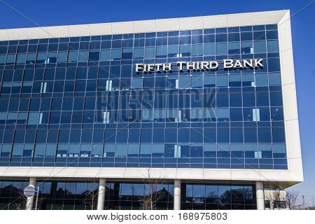 Indianapolis - Circa February 2017: Fifth Third Consumer Bank Branch. Fifth Third is a US regional banking corporation VI