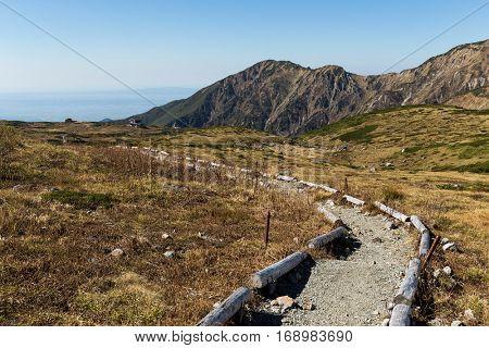 Plateau in Mount Tate