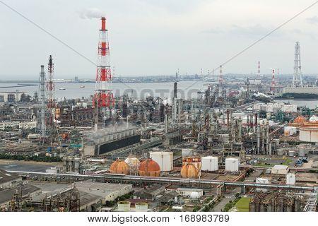Manufacting factory in Yokkaichi