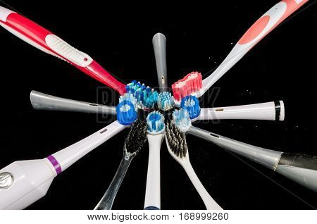 Close-up Of Toothbrush