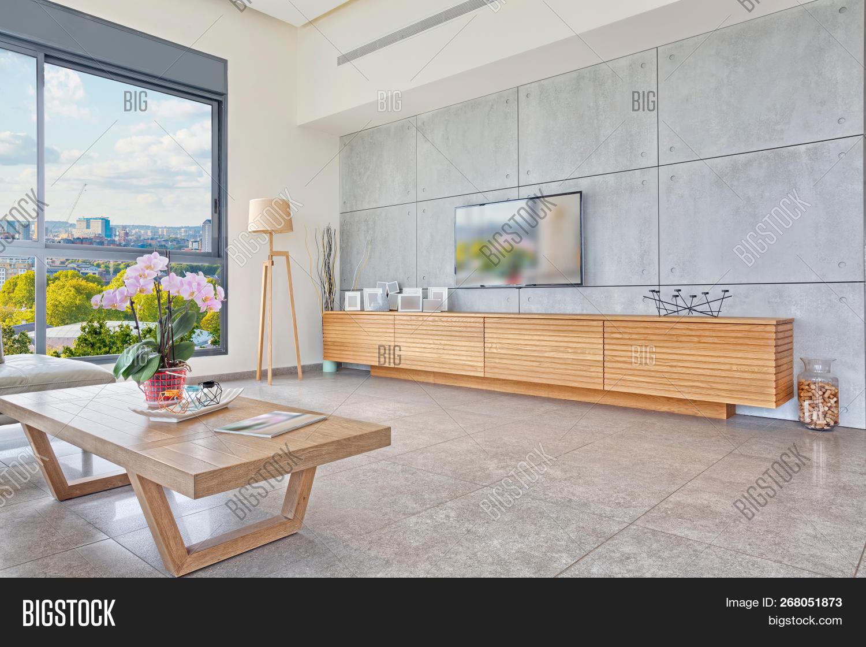 Luxury Modern Home Image Photo Free Trial Bigstock
