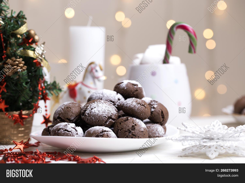 Chocolate Brownie Image Photo Free Trial Bigstock