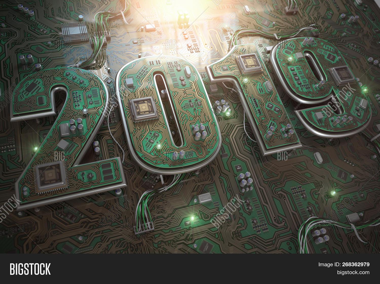 2019 On Circuit Board Image & Photo (Free Trial)   Bigstock