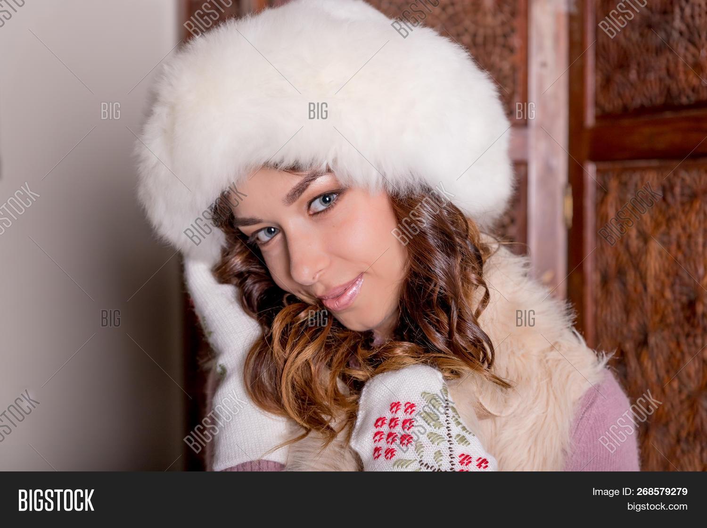 Winter Woman Portrait Image Photo Free Trial Bigstock