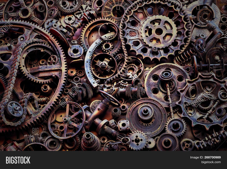 steampunk background image photo free trial bigstock