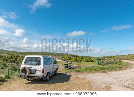 West Coast National Park, South Africa, August 20, 2018: A Picnic Area At Plankiesbaai In Postberg N
