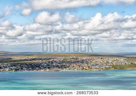 West Coast National Park, South Africa, August 20, 2018: Langebaan As Seen From The Perlemoen Lookou