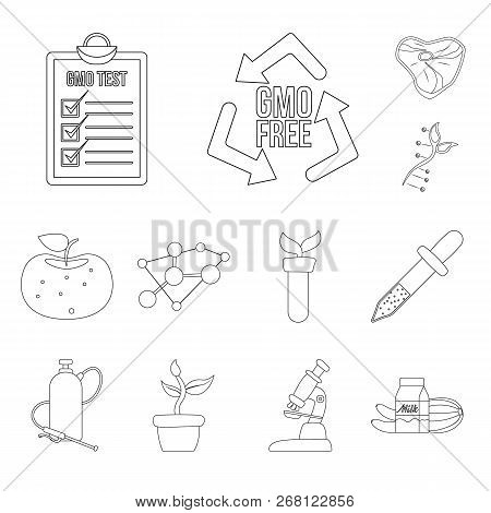 Vector Illustration Of  And  Logo. Collection Of  And  Vector Icon For Stock.
