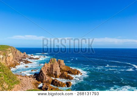 View From The Pinnacles Lookout, Philip Island, Victoria, Australia