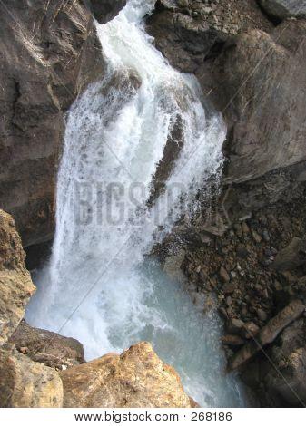 Takakkaw Falls, Bottom Portion - Yoho National Park, British Columbia, Canada