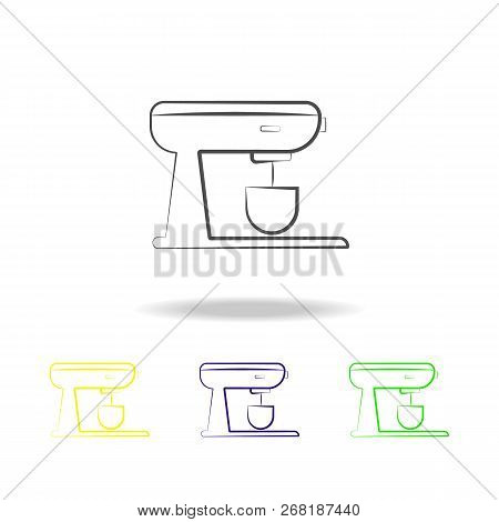 Stationary Mixer Vector & Photo (Free Trial) | Bigstock