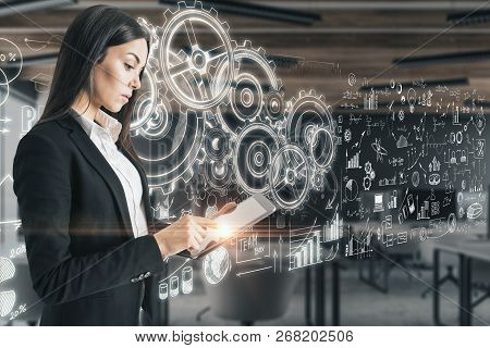 Success And Technology Concept