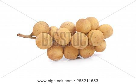 Wollongong Sweet Fruit An Isolated On White Background