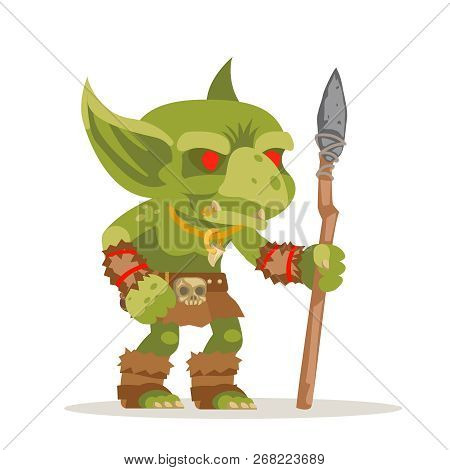 Goblin Evil Minion Dungeon Monster Fantasy Medieval Action Rpg Game Character Layered Animation Read