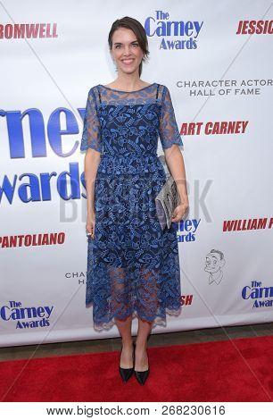 LOS ANGELES - OCT 28:  Jill Lover arrives for the Carney Awards 2018 on October 28, 2018 in Santa Monica, CA
