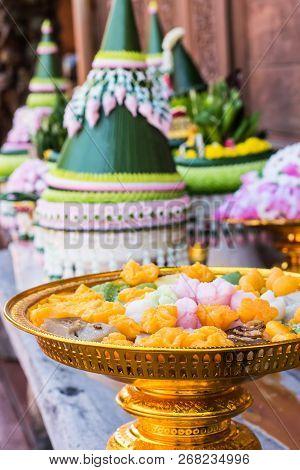 Thai Desserts Served At Wedding Reception Party