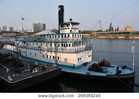 Portland, Oregon - Aug 21: Oregon Maritime Museum In Portland, As Seen On Aug 21, 2018.  The Museum
