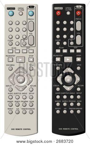 Dvd Remote Control.