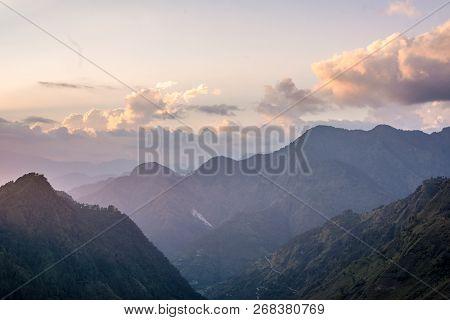 Beautiful Sunset In Himalayas - Munsiyari, Uttarakhand, India