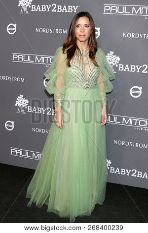LOS ANGELES - NOV 10:  Monique Lhuillier at the 2018 Baby2Baby Gala at the 3Labs on November 10, 2018 in Culver City, CA