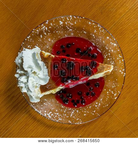 Huckleberry Cheese Cake