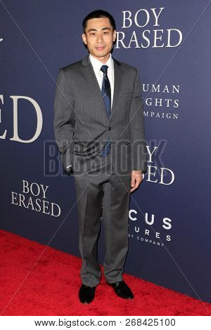 WEST HOLLYWOOD - OCT 29: William Ngo arriving at the Premiere of Boy Erased at the Directors Guild of America on October 29, 2016 in West Hollywood, California