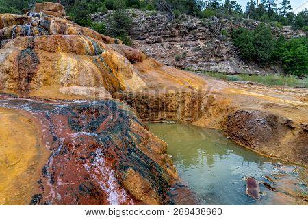 Pinkerton Hot Springs Outside Of Durango Colorado Along The Million Dollar Highway In The San Juan M