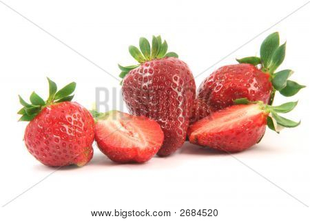 Close-Up Strawberries