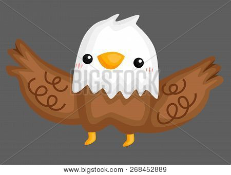 A Vector Of A Cute And Adorable Condor