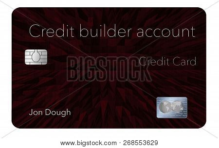 Here Is A Credit Card That Will Help You Rebuild Your Credit Rating. This Is A Credit Builder Accoun