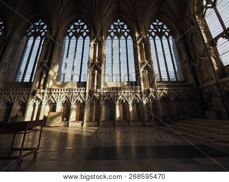 Ely Cathedral Lady Chapel