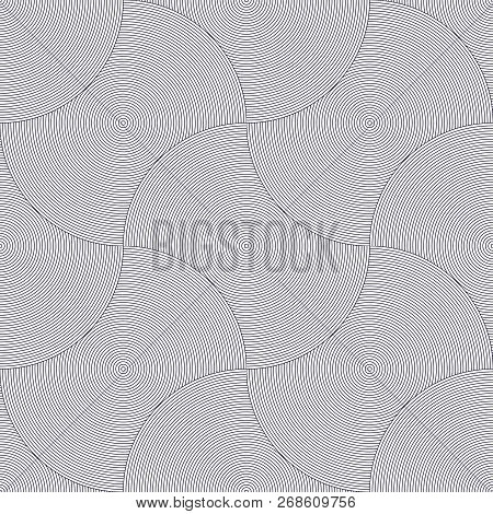 Seamless Geometric Pattern. Geometric Simple Fashion Fabric Print. Vector Repeating Tile Texture. Ov