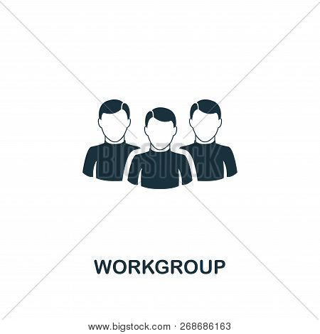Workgroup Icon. Premium Style Design From Teamwork Icon Collection. Ui And Ux. Pixel Perfect Workgro