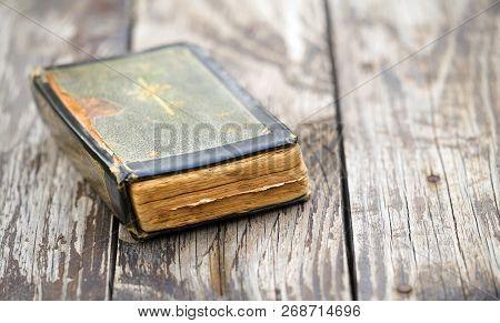 Old Vintage Holy Bible Book - Faith, Pray Concept